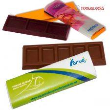 Chocolatina promocional