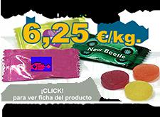 Oferta caramelos sin azúcar para publicidad