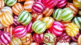 Regalar caramelos promocionales